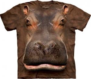 футболка hippo head