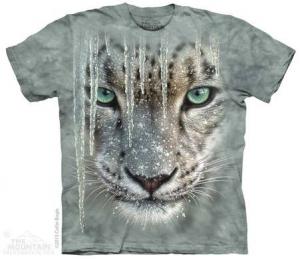 футболка icicle snow leopard