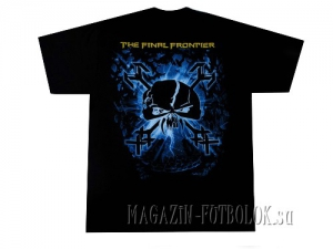 футболка iron maiden final frontier