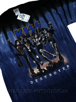 футболка kiss destroyer
