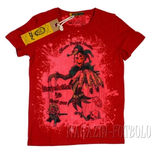 футболка клоун с марионетками