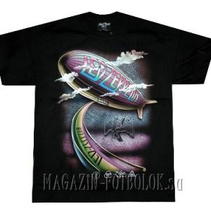 футболка led zeppelin rainbow