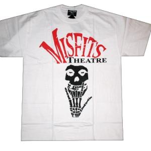 футболка misfits theater