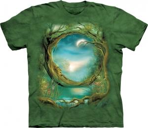 футболка moon tree