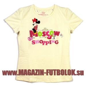 футболка moscow shopping