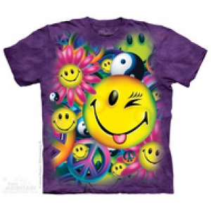футболка peace & happiness