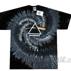 футболка пинк флойд spiral dark side