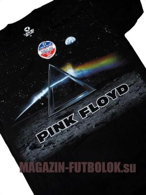 футболка pink floyd dark side lander