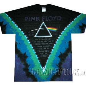 футболка pink floyd dark side vdye