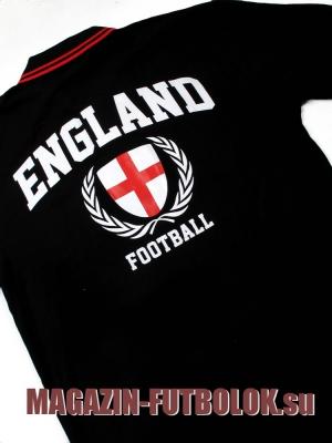 футболка поло английской сборной по футболу