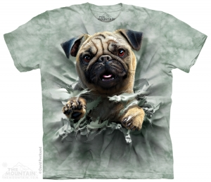 футболка pug breakthru