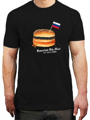 футболка russian big mac