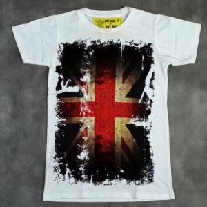 футболка с британским флагом