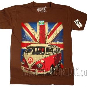 футболка с британским флагом volkswagen