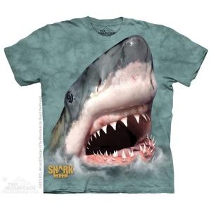 футболка sharktastic green