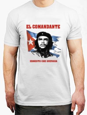 футболка сhe guevara el comandate