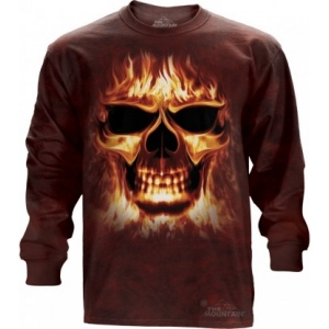 футболка skullfire