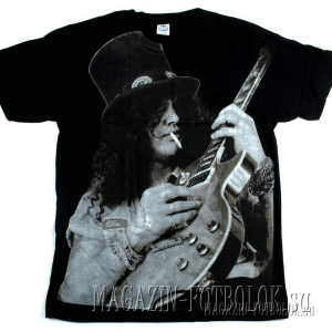 футболка slash full print black-white