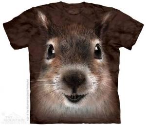 детская футболка squirrel face