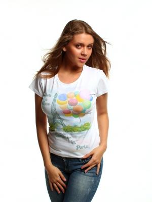 футболка summer in paris