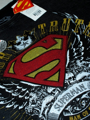 футболка superman honor truth винтаж