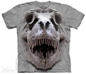 футболка t-rex big skull