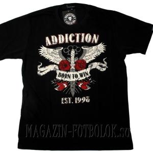 футболка татуировка born to win