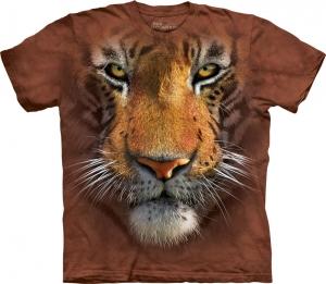футболка tiger face детская