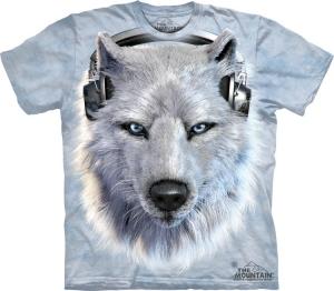 футболка white wolf dj