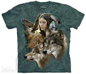 футболка wild spirit maiden