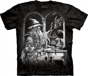 футболка wizard dragon