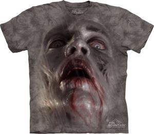 футболка zombie face