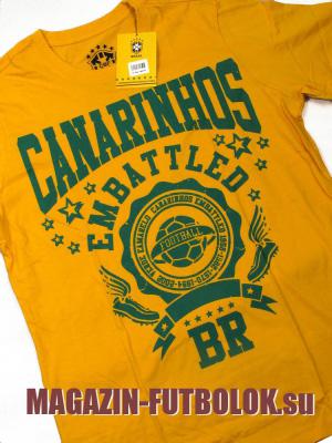 футбольная майка бразилии - canarinhos embattled