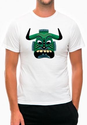 футболка green african mask