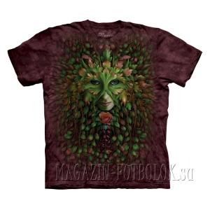 green woman - mountain живые футболки