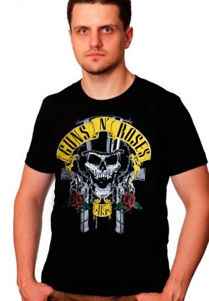 футболка guns n` roses vintage