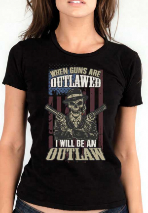 футболка guns outlow girls