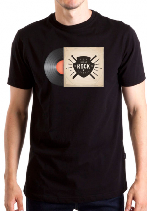 футболка hard rock vynil
