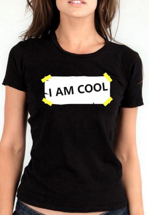 футболка i am cool girls