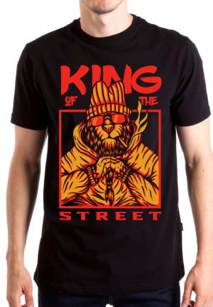 футболка king street lion