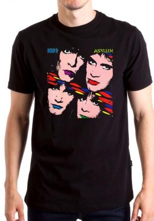 футболка kiss asylum