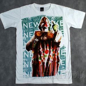 клоун - футболка с прикольным принтом