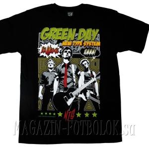 купить футболку green day