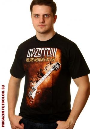 led zeppelin футболка гитара jimmi page