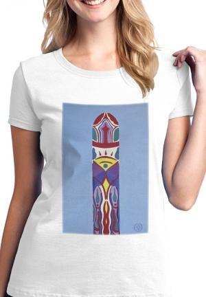 футболка магический жезл