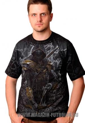 славянская футболка с лучником