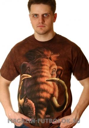 американская футболка с 3d эффектом