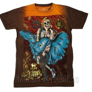 marylin blue dress клубная футболка