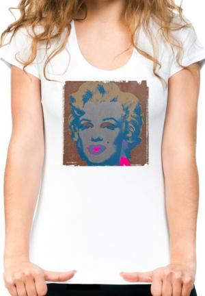 футболка marylin monroe pop art