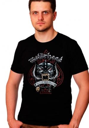 футболка motorhead ace of spade